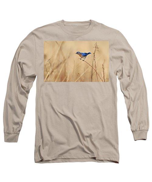 Bluebird Meadow Long Sleeve T-Shirt