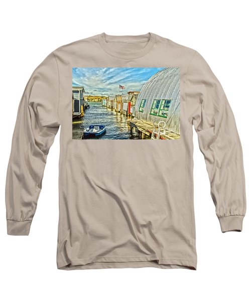 Boathouse Alley Long Sleeve T-Shirt