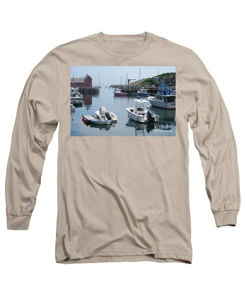 Long Sleeve T-Shirt featuring the photograph Boats On The Water by Eunice Miller