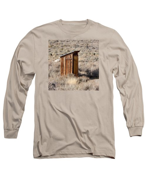 Bodie Outhouse Long Sleeve T-Shirt by Art Block Collections