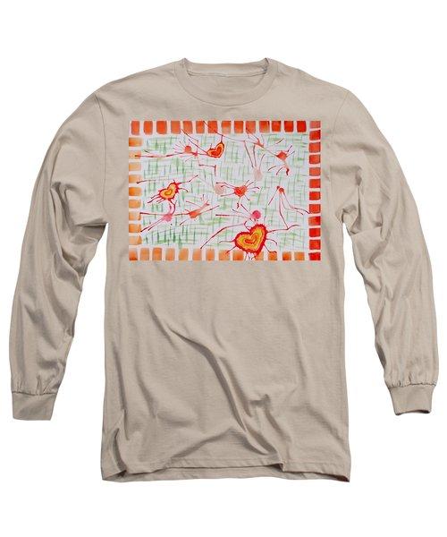 Bonds Of Love Long Sleeve T-Shirt by Sonali Gangane