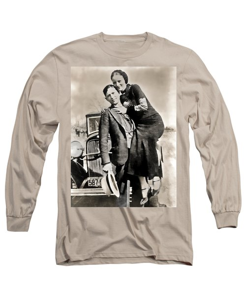 Bonnie And Clyde - Texas Long Sleeve T-Shirt