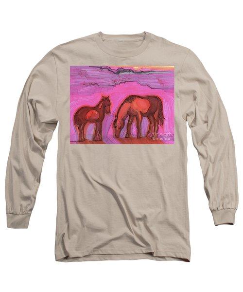 Born On The Mesa By Jrr Long Sleeve T-Shirt