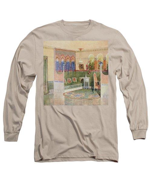 Boudoir, From A Villa In Helsinki Long Sleeve T-Shirt