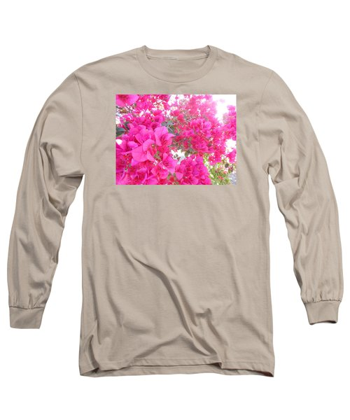 Bougainvillea Long Sleeve T-Shirt by Kay Gilley