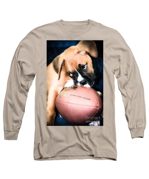 Boxer Puppy Cuteness Long Sleeve T-Shirt