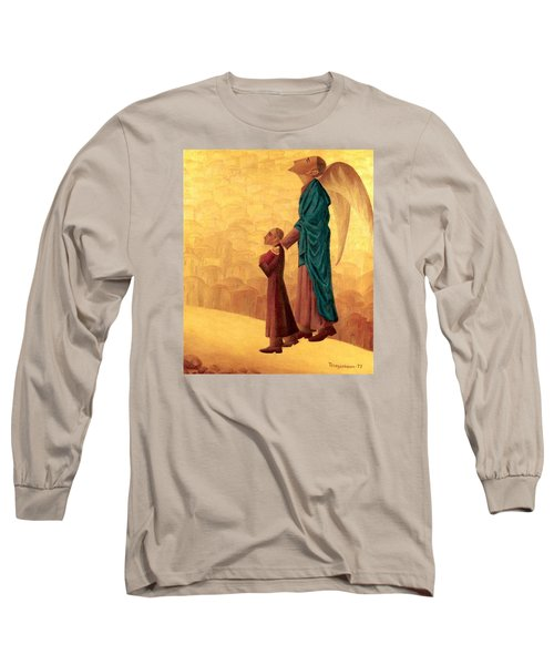 Boy Leading The Blind Angel Long Sleeve T-Shirt