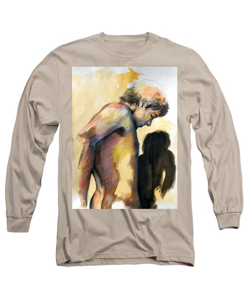 Boy Looking For Truth Long Sleeve T-Shirt