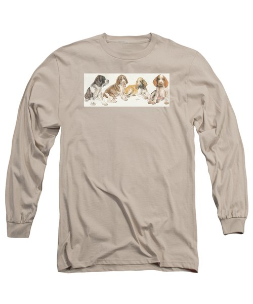 Bracco Italiano Puppies Long Sleeve T-Shirt