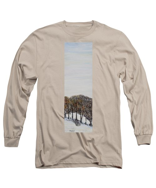 Long Sleeve T-Shirt featuring the painting Branch Broken by Marilyn  McNish
