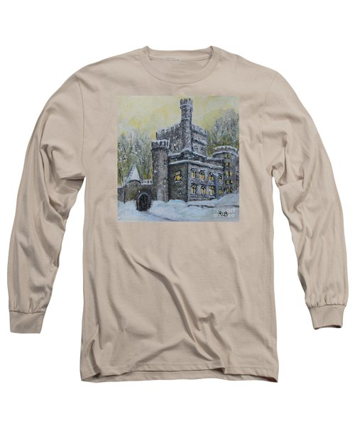 Brandeis University Castle Long Sleeve T-Shirt