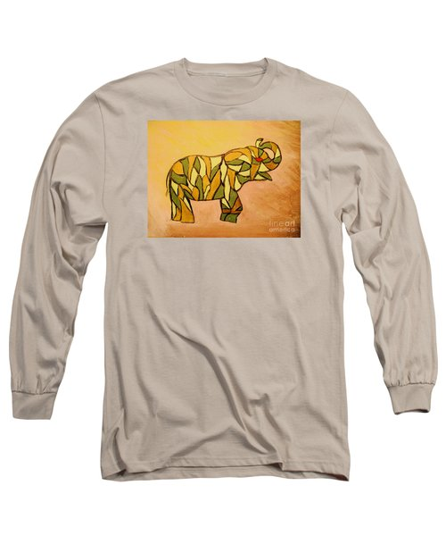 Breaking The Chain Limited Edition Prints 1 Of 20 Long Sleeve T-Shirt by Donna Dixon