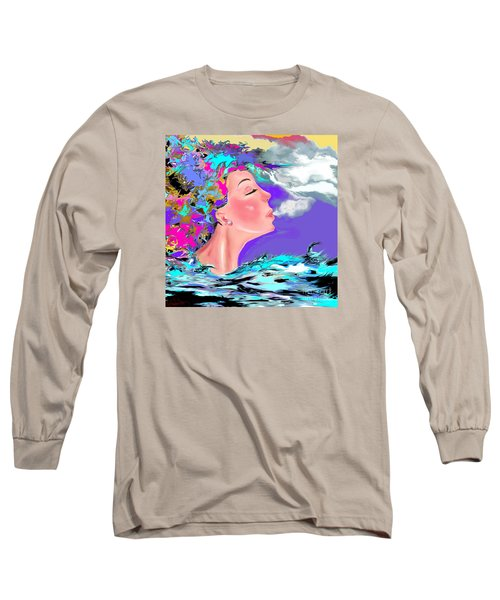 Just Breathe Long Sleeve T-Shirt by Lori  Lovetere