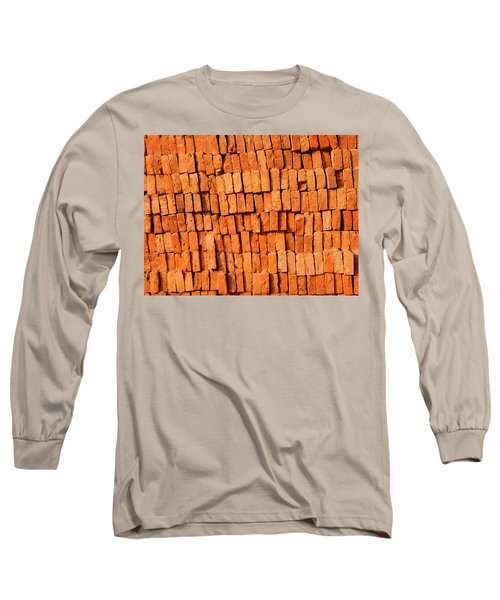 Brick Stack Long Sleeve T-Shirt