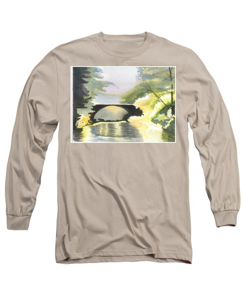 Bridge In Shadows Long Sleeve T-Shirt