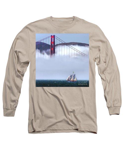 Bridge Sailing Long Sleeve T-Shirt