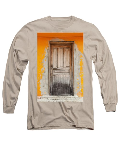 Brightly Colored Door And Wall Long Sleeve T-Shirt