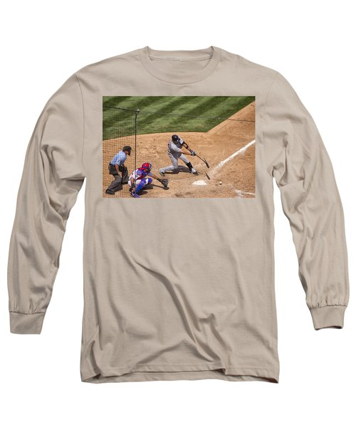 Broken Bat Long Sleeve T-Shirt