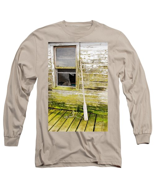 Broken Window Long Sleeve T-Shirt by Mary Carol Story
