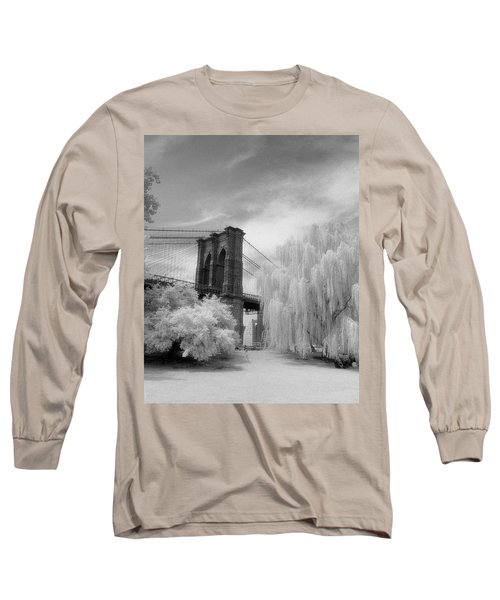 Brooklyn Bridge Willows Long Sleeve T-Shirt