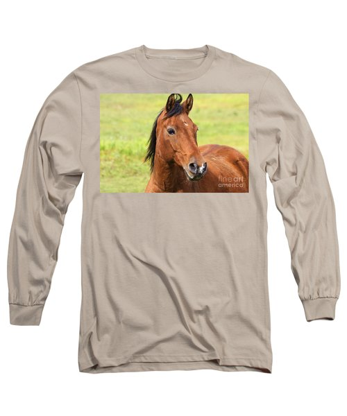Brown Beauty Long Sleeve T-Shirt