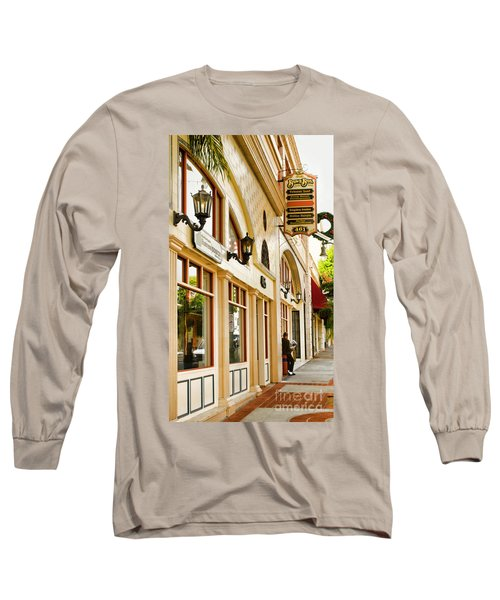 Brown Bros Building Long Sleeve T-Shirt by Donna Greene
