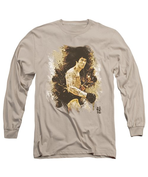 Bruce Lee - Intensity Long Sleeve T-Shirt by Brand A