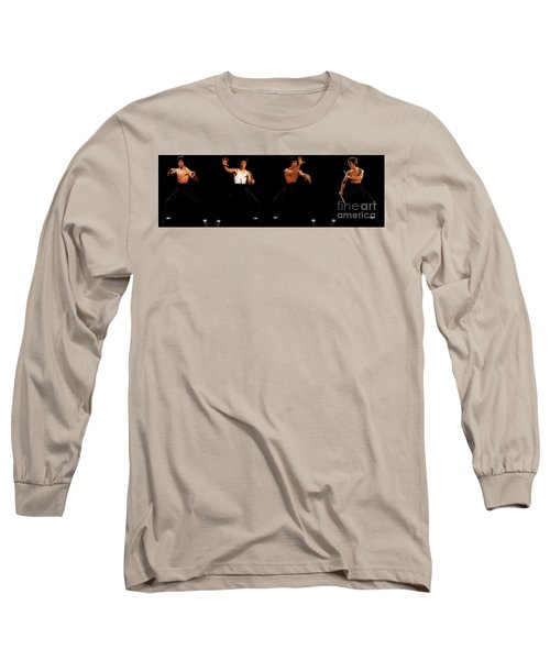Bruce Lee - Times Four Long Sleeve T-Shirt