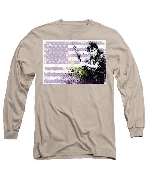 Bruce Springsteen Splats Long Sleeve T-Shirt