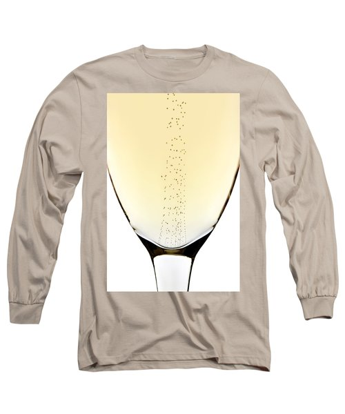 Bubbles In Champagne Long Sleeve T-Shirt