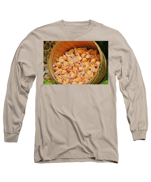 Long Sleeve T-Shirt featuring the photograph Bucket Of Taffy by Cynthia Guinn