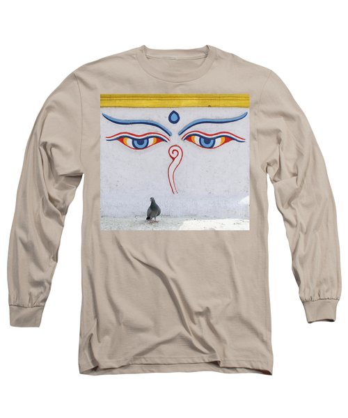 Buddha Eyes Long Sleeve T-Shirt