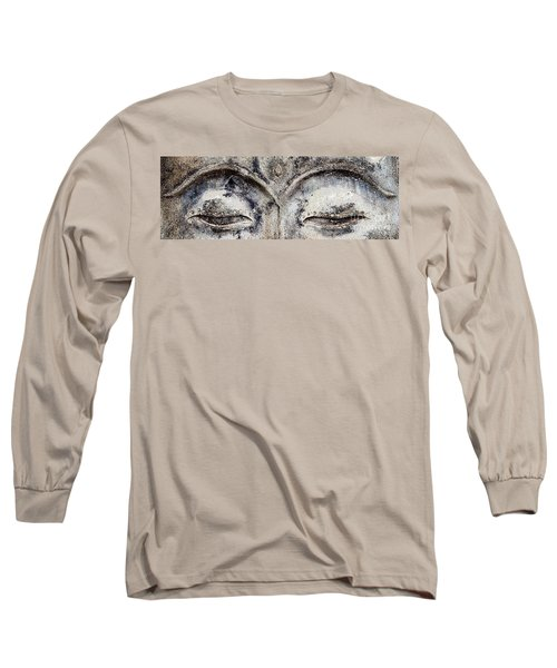 Long Sleeve T-Shirt featuring the photograph Buddha Eyes by Roselynne Broussard