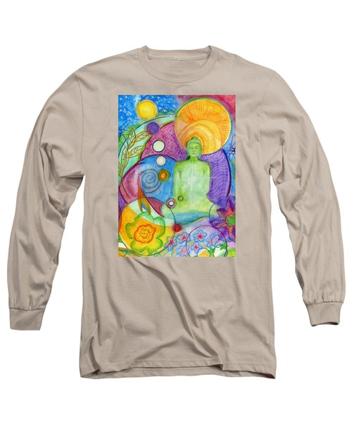 Buddha Of Infinite Possibilities Long Sleeve T-Shirt