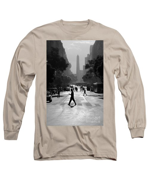 Buenos Aires Obelisk II Long Sleeve T-Shirt