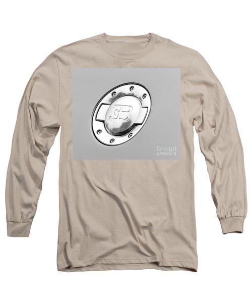 Long Sleeve T-Shirt featuring the photograph Bugatti Fuel Cap by Matt Malloy