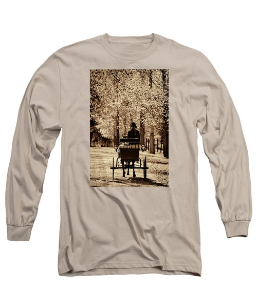 Long Sleeve T-Shirt featuring the photograph Buggy Ride by Joan Davis