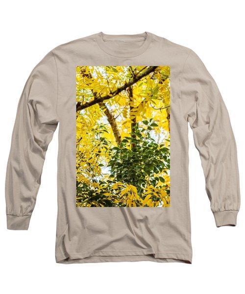 Bunch Of Green Long Sleeve T-Shirt