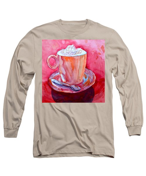 Buon Appetito Long Sleeve T-Shirt by Beverley Harper Tinsley