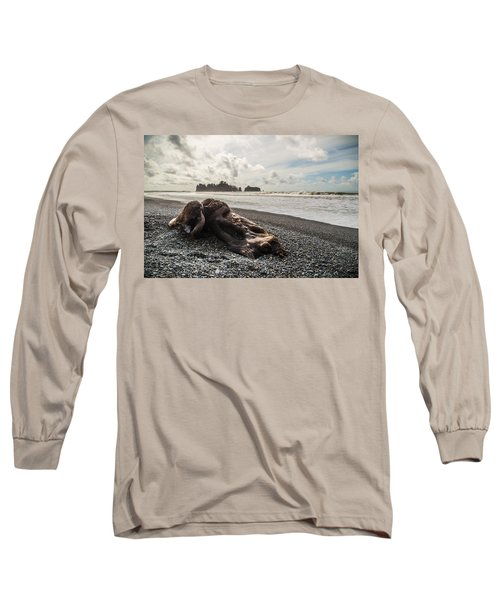 Buried Long Sleeve T-Shirt by Kristopher Schoenleber