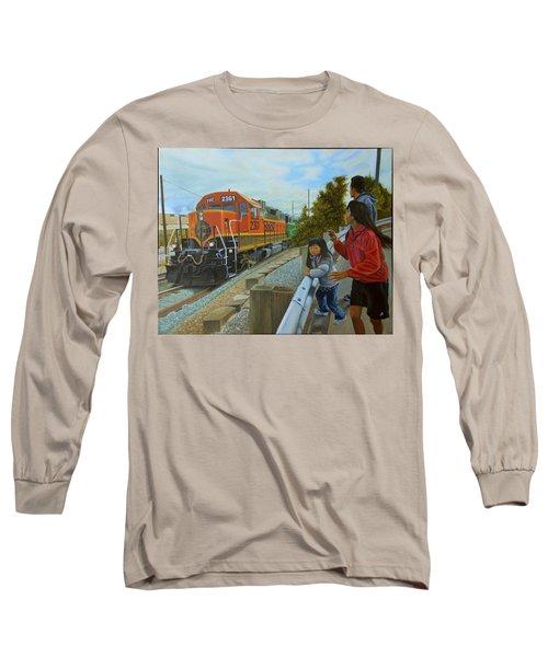 Burlington Northern Santa Fe Long Sleeve T-Shirt