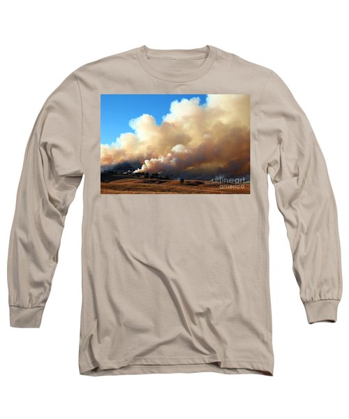 Burning In The Black Hills Long Sleeve T-Shirt
