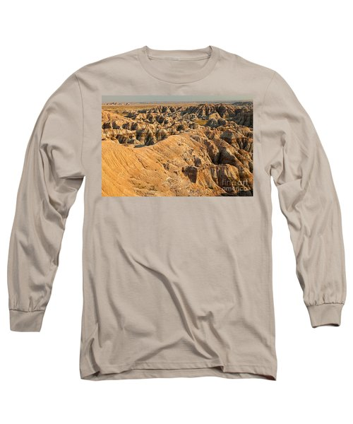 Burns Basin Overlook Badlands National Park Long Sleeve T-Shirt