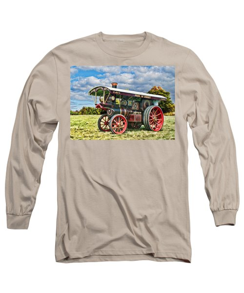 Burrell Showmans Engine Long Sleeve T-Shirt