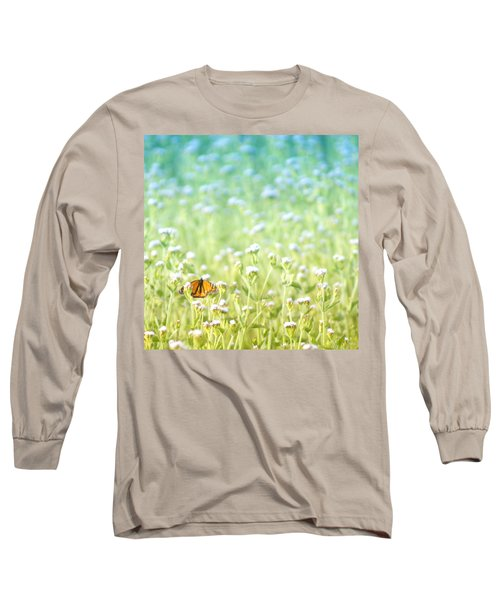 Long Sleeve T-Shirt featuring the photograph Butterfly Dreams by Holly Kempe