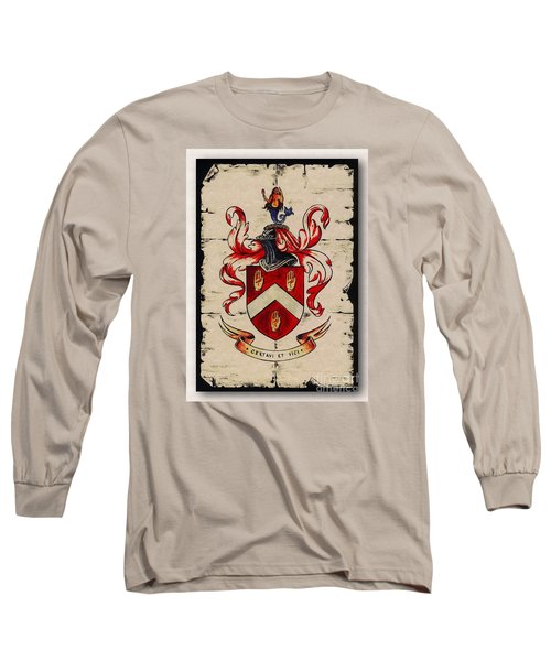 Byrne Coat Of Arms Long Sleeve T-Shirt