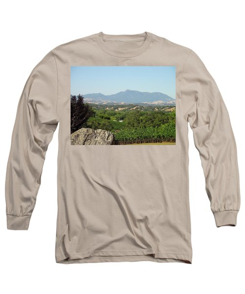 Long Sleeve T-Shirt featuring the photograph Cali View by Shawn Marlow