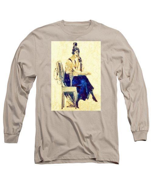 Call Me Long Sleeve T-Shirt by Charmaine Zoe