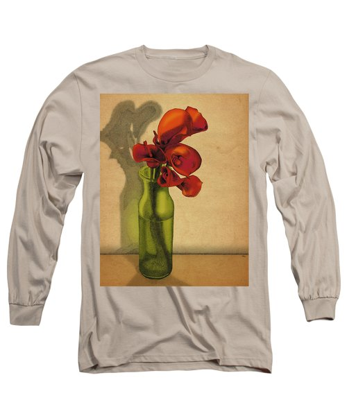 Calla Lilies In Bloom Long Sleeve T-Shirt