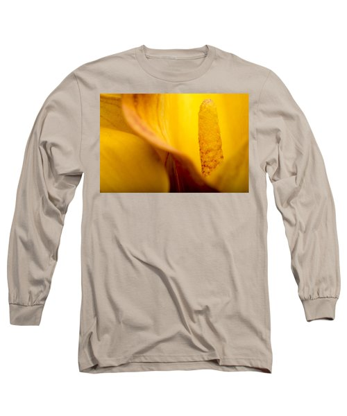 Long Sleeve T-Shirt featuring the photograph Calla Lily by Sebastian Musial